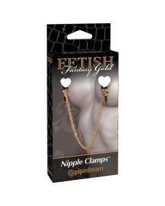 Fetish Fantasy Gold Nipple Clamps
