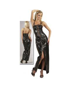 Lang lakk kjole