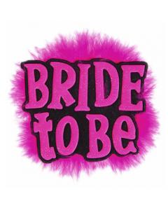 Black Bride to be Brooch