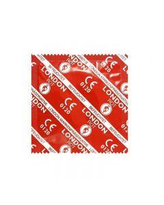 Durex London Red Kondom med Jordbærsmak