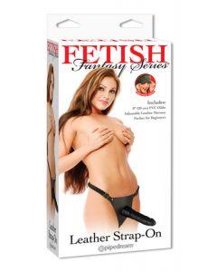 Leather Strap-On Black Fetish Fantasy Serie